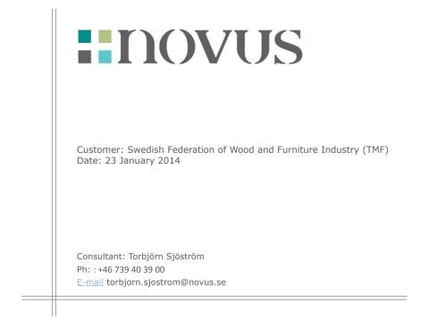 Novus Furniture Survey