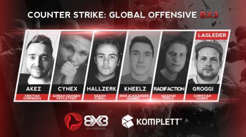 BX3 Elektroniske Sportsklubb satser ungt i Counter-Strike: Global Offensive