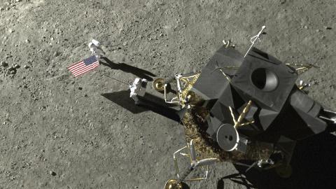 Rekonstruktion af månelandingen