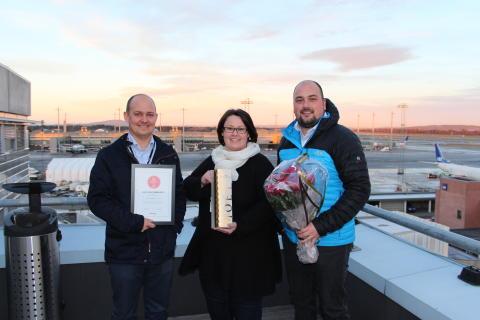 Kommunikasjonspris til Oslo Lufthavn
