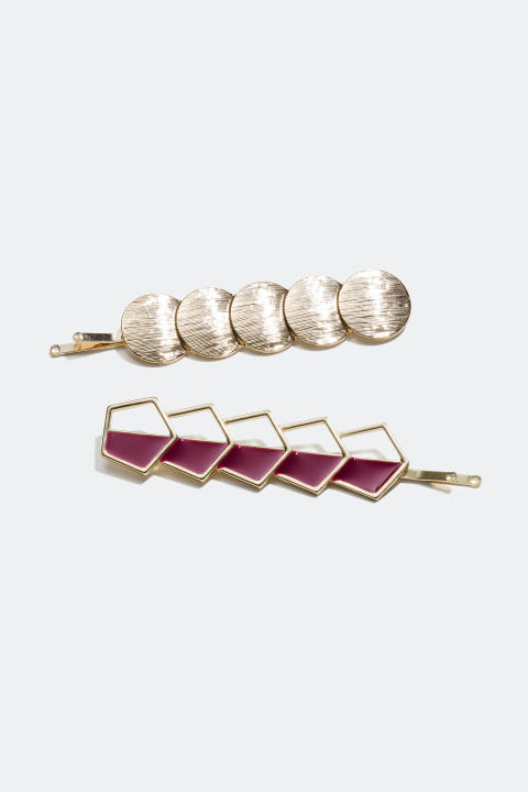 Hair Clips (2-pack)