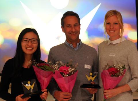 IT-tjänsteföretaget Agero och Pink Programming-profilen Myky Tran vinnare av Womentorpriset 2016