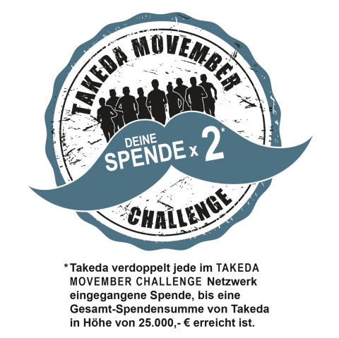 Takeda Movember Challange 2016