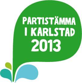 Välkommen till Centerpartiets partistämma i Karlstad 19 – 22 september