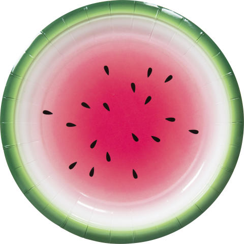 Nille - tallerken vannmelon