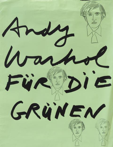 Andy Warhol, Für die Grünen, 1978