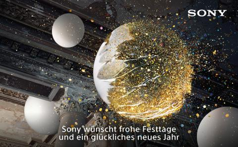 Sony wünscht frohe Festtage