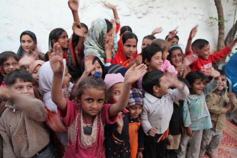 Semantix finansierar skolbyggnad i Pakistan