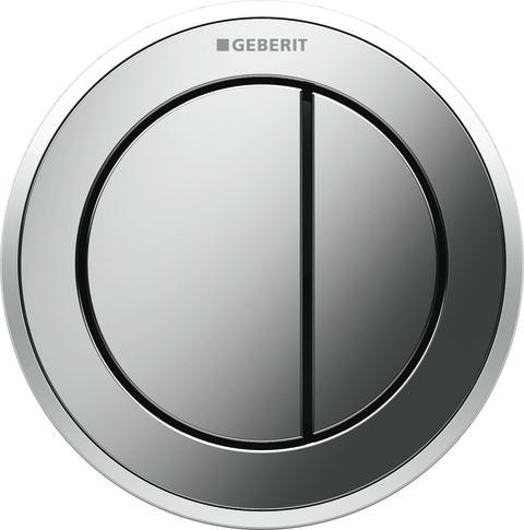 Nya Geberit Omega01 remote - blankförkromad