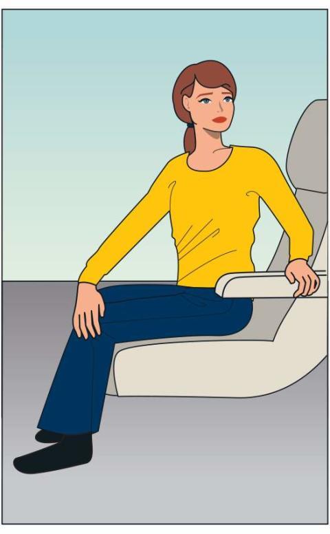 Yoga på flygplan 2