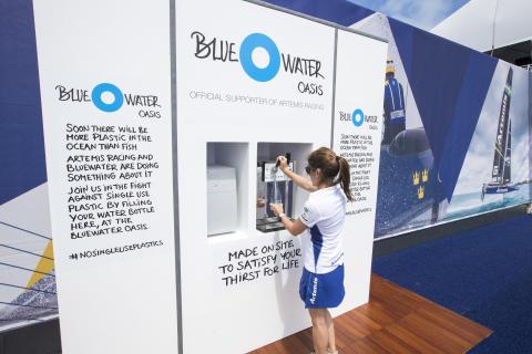 Bluewater renar vattnet åt America's Cup
