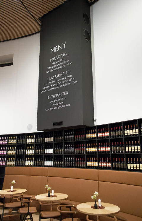 Nordic Sea Winery_Meny