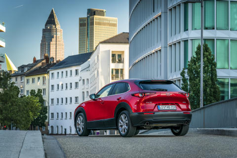 Mazda CX-30 i Soul Red Crystal