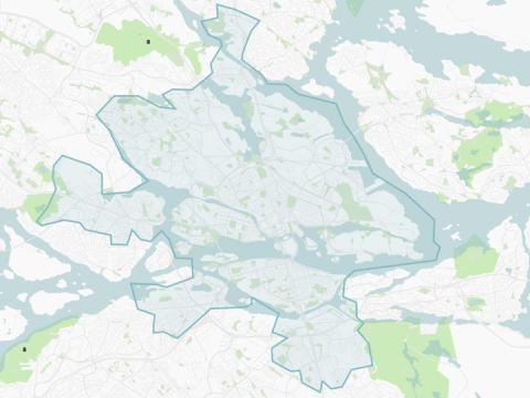 urb-its nya överlämningsområde - Stockholm