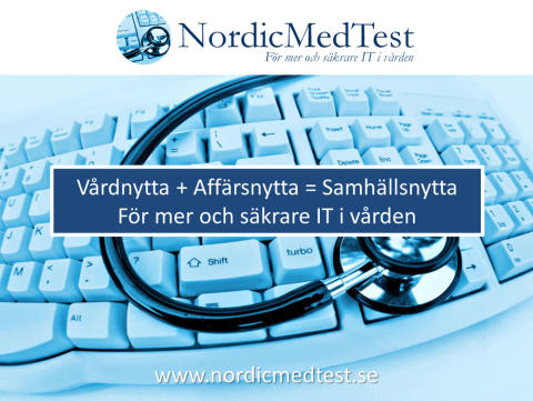 Nytt bildspel presenterar Nordic MedTest