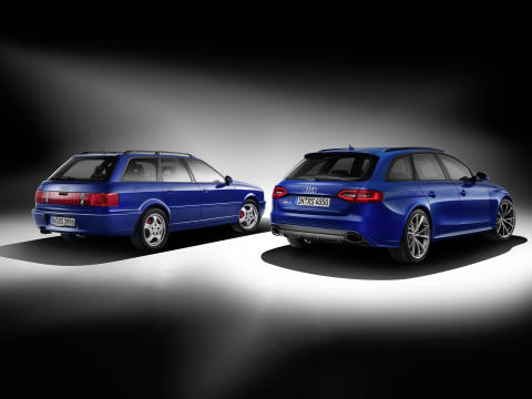 Audi hyllar en modern klassiker med Audi RS 4 Avant Nogaro selection