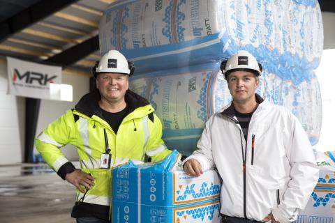 Historie: MRK vælger Knauf Insulation af både praktiske og økonomiske grunde