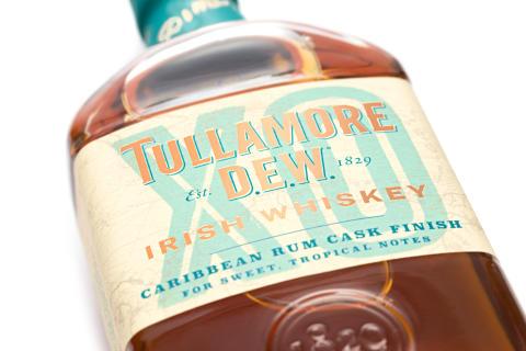 Tullamore D.E.W. lanserar karibisk whiskey