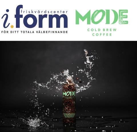 Friskvårdskedjan iForm och Mode Cold Brew tar upp kampen mot sockret!