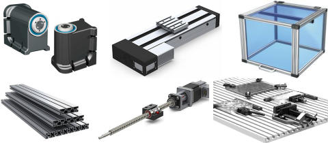 Lös era mekaniska konstruktioner med våra lineärgejder, lineäraxlar och profiler.