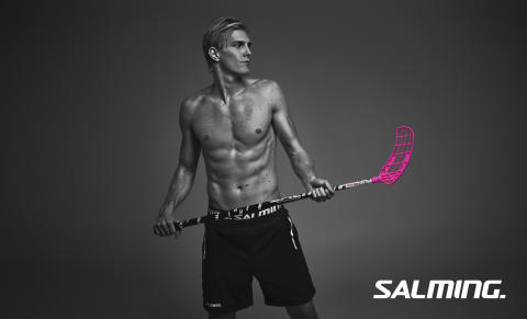 Floorball icon Kim Nilsson and Salming deepen existing co-operation.