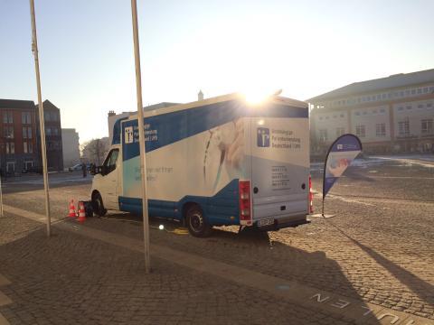 Beratungsmobil der Unabhängigen Patientenberatung kommt am 24. April nach Anklam.