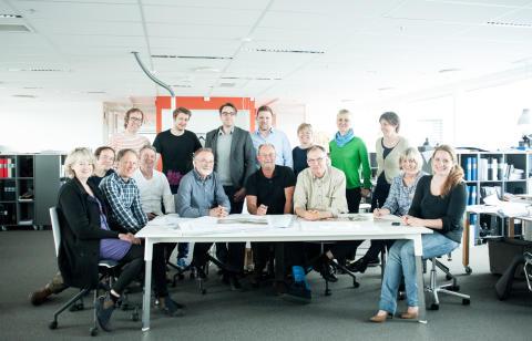 FOJAB arkitekters team bakom MAX IV