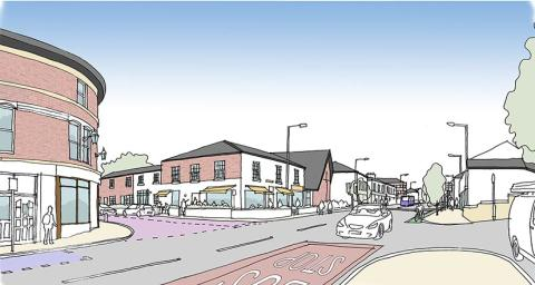 Work to start on Prestwich high street regeneration