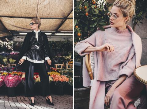 Återvunna kläder under modeveckan får nytt liv av KappAhls designers