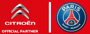 Logo Citroën Official Parner to PSG