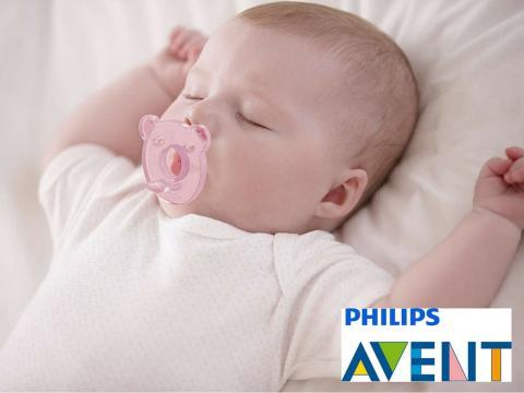 Nyhet! Beroligende myk silikonsmokk – Philips Avent Soothie