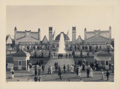 Invigning av Baltiska jubileumsåret - historisk bild