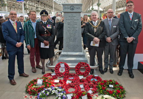 Virgin Trains remembers fallen Railwaymen