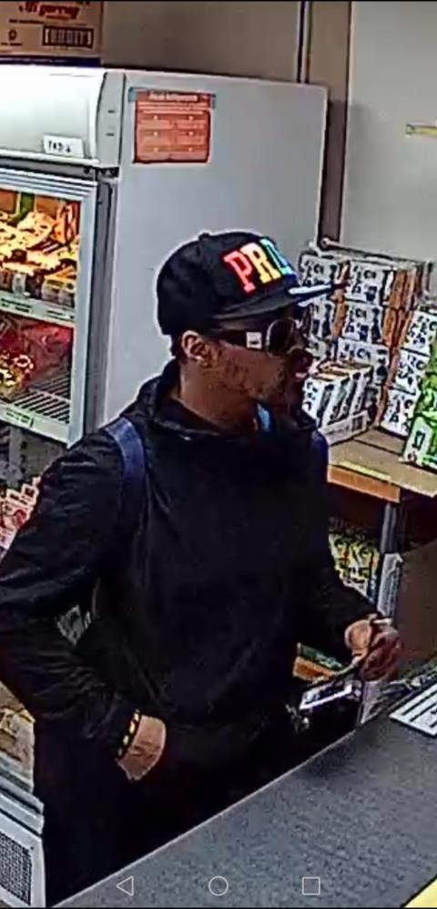 CCTV still - Islington robbery appeal