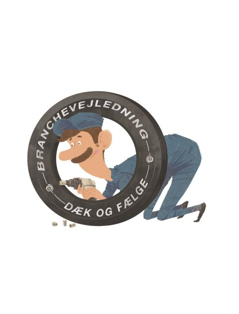 Hjulle er den nye branchevejlednings maskot
