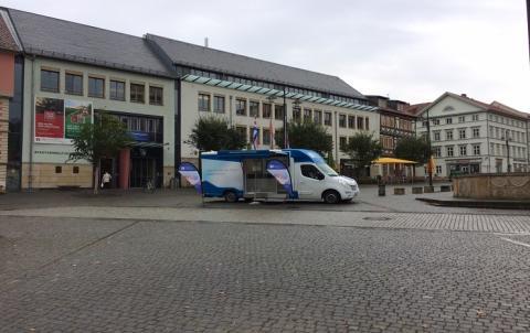 Beratungsmobil der Unabhängigen Patientenberatung kommt am 28. Februar nach Eisenach.