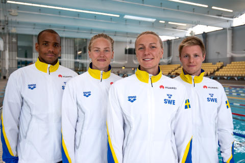 Svenska simlandslaget_2_Huawei_2019