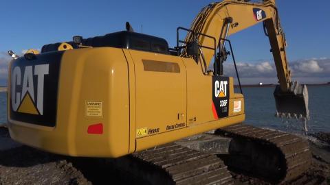 Cat 336F hybrid gravemaskine
