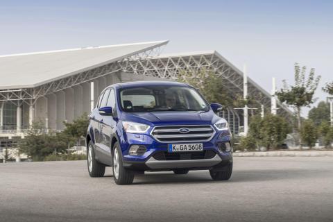 Ny dynamisk SUV: Omfattende facelift til den populære Ford Kuga
