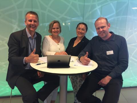 Tommel opp for de nominerte til Sørlandets Energipris 2017