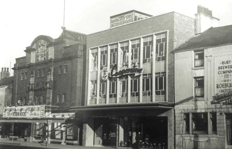 The co-op drapery on Middleton Gardens as it was
