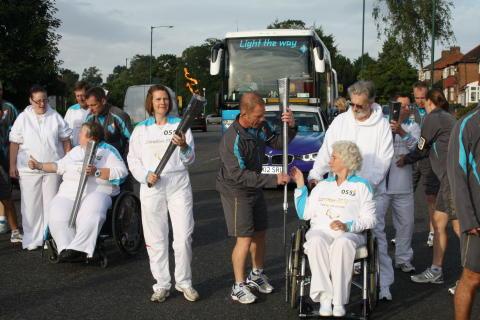 Paralympic Torch honour for Birmingham Children's Hospital dietitian