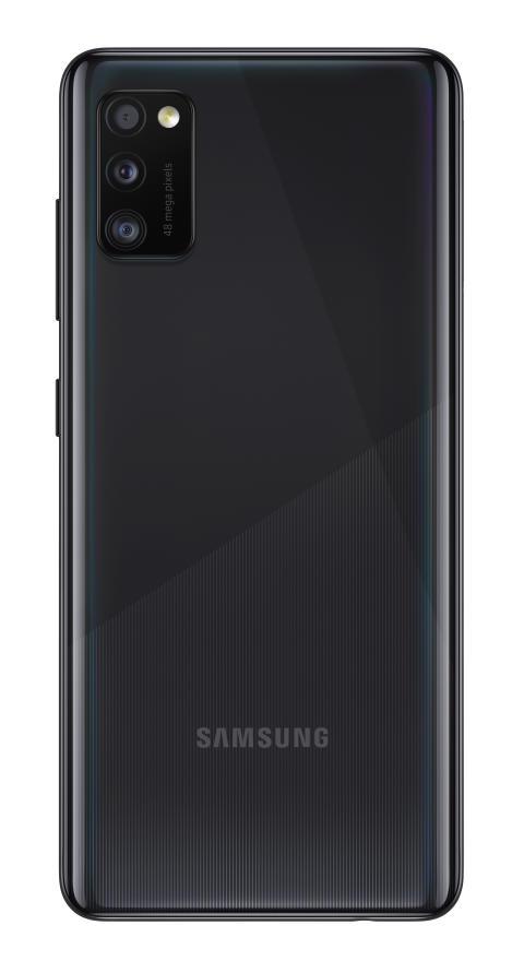 01_Samsung Galaxy A41_prism_crush_black_back
