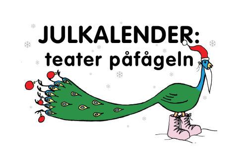 Levande julkalender på Teater Påfågeln