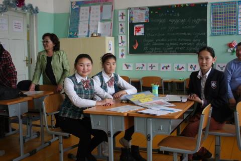 Skolgång för fler barn med funktionsnedsättning i Mongoliet