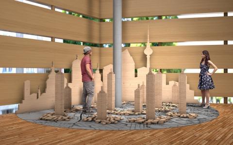 Berliinissä 3.7. avautuva Wild Wild Wood antaa esimakua Heurekan tulevasta puuaiheisesta näyttelystä