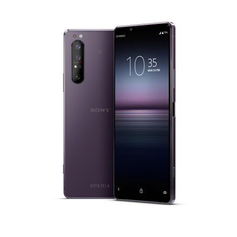 Xperia 1 II Purple_Main