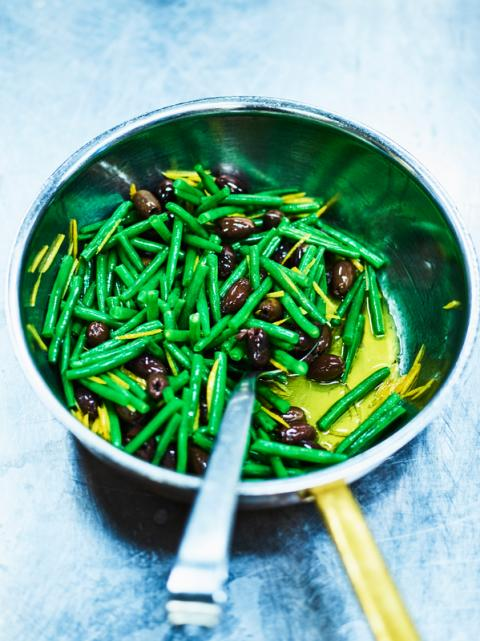 Haricot verts, oliver