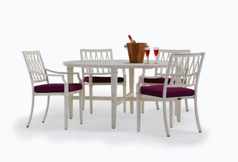 matmöbeln för orangeriet eller terrassen