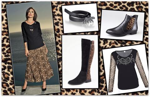 Förvilda din garderob med leopardmönster i höst